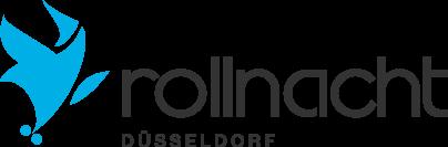 Rollnacht Logo dunkle Schrift